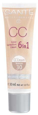 SANTE CC Color Correction Cream No. 30 bronze 30ml