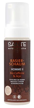 SANTE Homme 2 Rasierschaum Bio-Caffeine & Açai 150ml