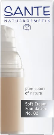 SANTE Soft Cream Foundation light beige No. 02 30ml