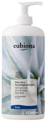 Eubiona Feuchtigkeitslotion Aloe Vera-Granatapfel 500ml