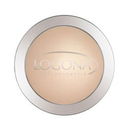 LOGONA Face Powder no. 01 light beige Kompaktpuder 10g