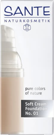 SANTE Soft Cream Foundation porcellan No. 01 30ml/A
