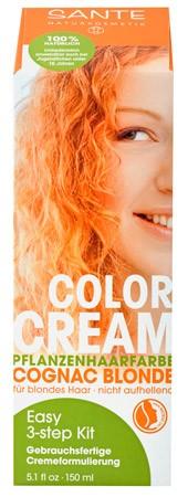 SANTE Colour Creme Cognac Blonde Pflanzenhaarfarbe 150ml/A
