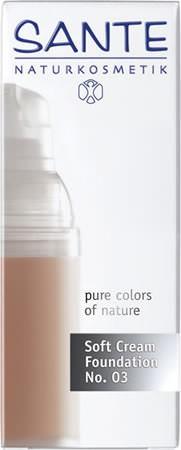 SANTE Soft Cream Foundation No. 03 sunny beige 30ml