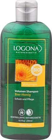 LOGONA Volumen Shampoo Bier & Honig 250ml