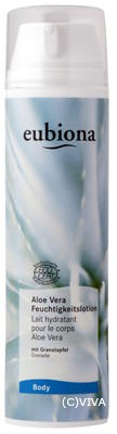 Eubiona Feuchtigkeitslotion Aloe Vera-Granatapfel 200ml