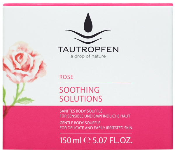 Tautropfen Soothing Rose Body Soufflé 150ml
