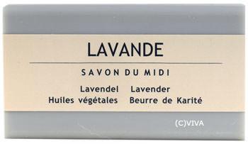 Savon Du Midi Karité-Pflanzenölseife Lavendel 100g