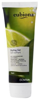Eubiona Styling-Gel mit Limonen-Extrakt 125ml