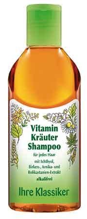 Ihre Klassiker Vitamin Kräuter Shampoo 200ml/A