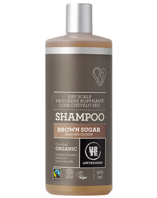 Urtekram Shampoo Brown Sugar (Fair Trade) 500ml