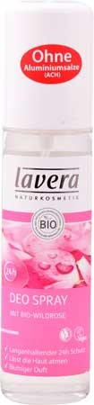 Lavera Body-SPA Deo Spray mit Bio-Wildrose 75ml