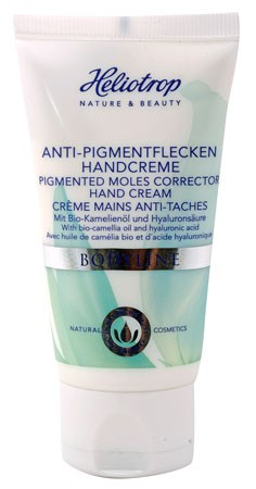 Heliotrop BODYLINE Anti-Pigmentflecken Handcreme 50ml