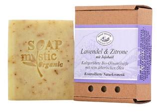 Soap Mystic Bio-Naturseife Lavendel und Zitrone 110g