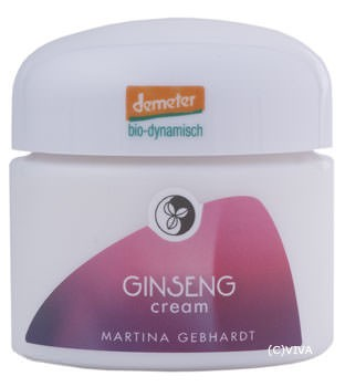 Martina Gebhardt Ginseng Cream demeter 50ml
