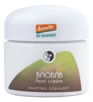 Martina Gebhardt Baobab Foot Cream Happy Body Fußcreme 50ml