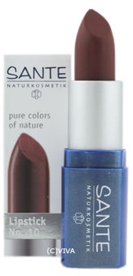 SANTE Lipstick brown red No. 10 4,5g