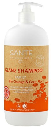 SANTE Family Glanz Shampoo Bio-Orange und Coco 950ml