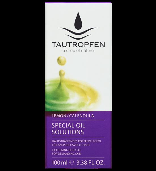 Tautropfen Special Oil/ Zitrone-Ringelblume Hautstraffendes Körperpflegeöl 100ml