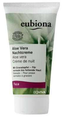 Eubiona Nachtcreme Aloe 50ml