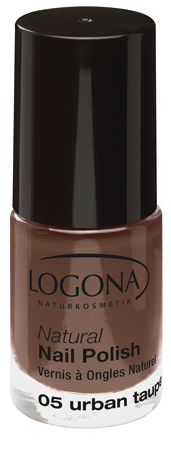 LOGONA Natural Nails Polish no. 05 urban taupe 4ml