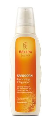 Weleda Reichhaltige Pflegelotion Sanddorn 200ml