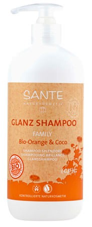 SANTE Family Glanz Shampoo Bio-Orange und Coco 500ml