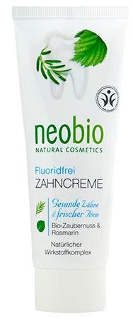 neobio Zahncreme fluoridfrei 75ml