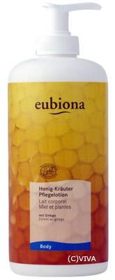 Eubiona Pflegelotion Honig-Kräuter 500ml