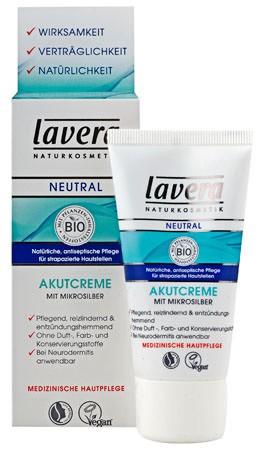 Lavera Akutcreme mit Mikrosilber Neutral 75ml