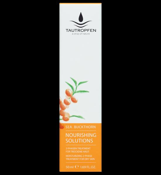 Tautropfen Nourishing Sanddorn 2-Phasen Treatment Gesichtsfluid 50ml