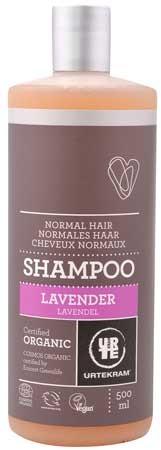 Urtekram Shampoo Purple Lavender (für normales Haar) 500ml