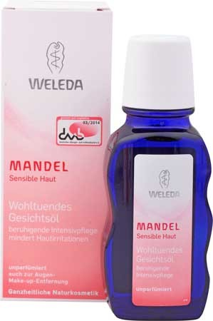 Weleda Mandel Wohltuendes Gesichtsöl 50ml