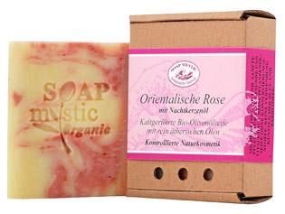 Soap Mystic Bio-Naturseife Orientalische Rose 110g