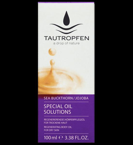Tautropfen Special Oil/ Sanddorn-Jojoba Regenerierendes Körperpflegeöl 100ml