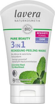 Lavera Pure Beauty 3in1 Reinigung - Peeling - Maske 125ml