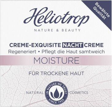 Heliotrop MOISTURE Creme Exquisite Nachtcreme 50ml