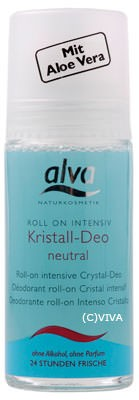 Alva Kristall-Deo Roll on sensitiv 50ml