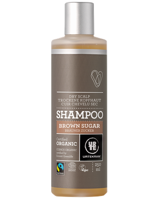 Urtekram Shampoo Brown Sugar (Fair Trade) 250ml