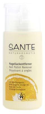 SANTE Nagellackentferner mit Bio-Alkohol 100ml