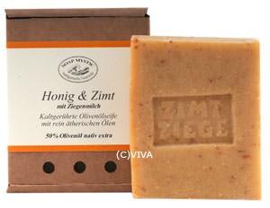 Soap Mystic Naturseife Honig und Zimt mit Ziegenmilch 100g