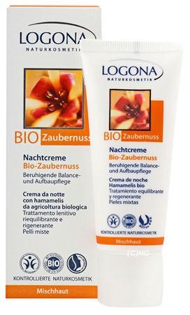 LOGONA porenverfeinerndes Nachtfluid Bio-Bambus & Bio-Hamamelis 30ml