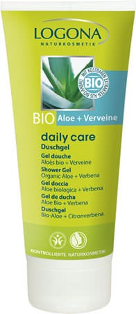 LOGONA Daily Care Duschgel Bio-Aloe und Verveine 200ml