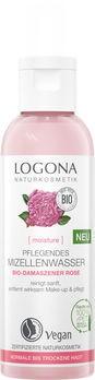 LOGONA MOISTURE Pflegendes Mizellenwasser Bio-Damaszener Rose 125ml