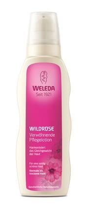 Weleda Verwöhnende Pflegelotion Wildrose 200ml