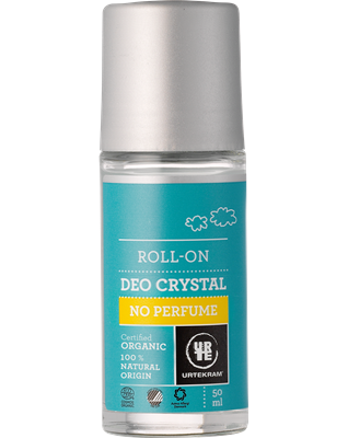 Urtekram Kristall Deo Roll on Crystal No Perfume 50ml