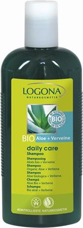 LOGONA Daily Care Shampoo Bio-Aloe und Verveine 250ml