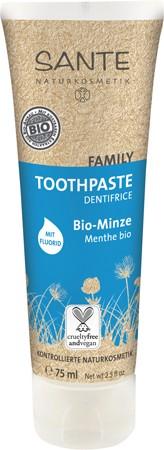 SANTE Family Toothpaste Minze mit Fluorid, Zahncreme 75ml