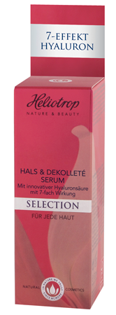 Heliotrop SELECTION Hals & Dekolleté Serum 1 Stück