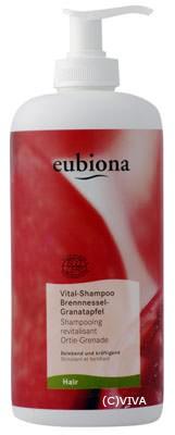 Eubiona Vital-Shampoo mit Brennessel-Granatapfel 500ml